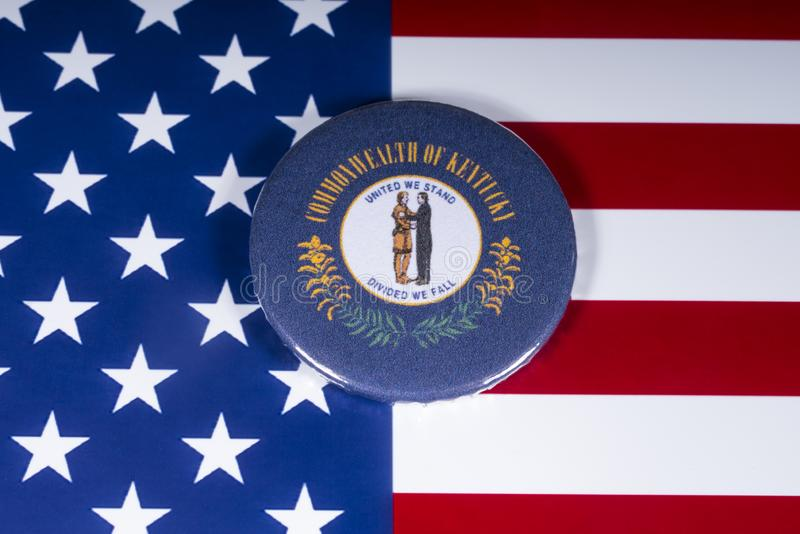 El estado de Kentucky en los E.E.U.U. fotos de archivo
