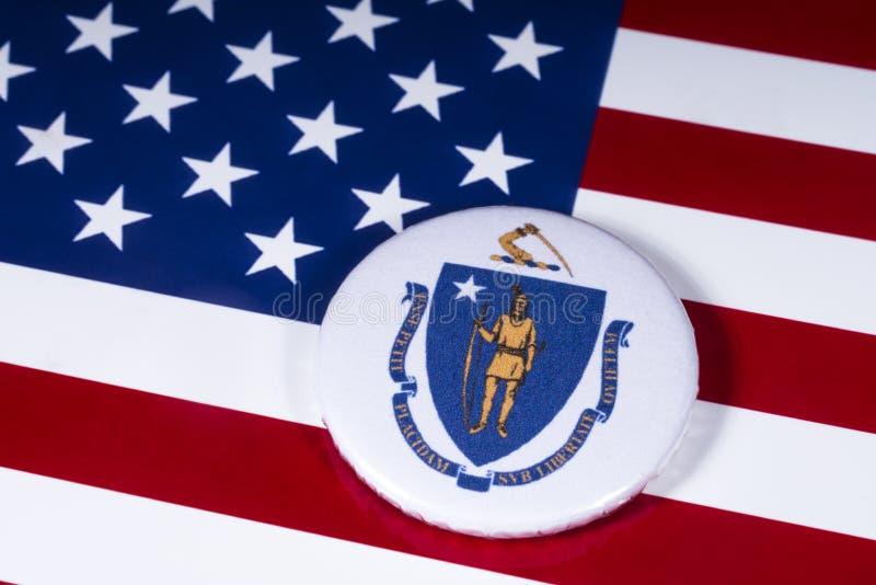 El estado de Massachusetts en los E.E.U.U. fotos de archivo