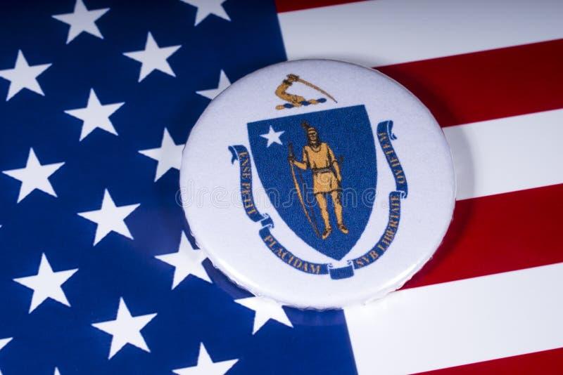 El estado de Massachusetts en los E.E.U.U. foto de archivo