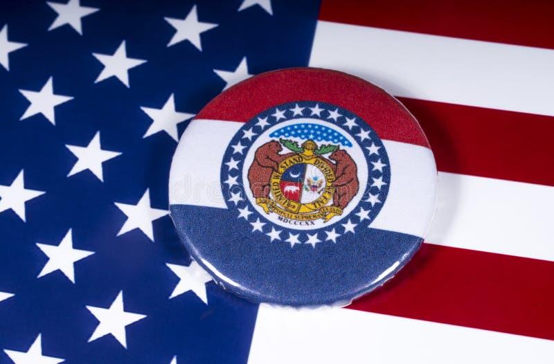 El estado de Missouri en los E.E.U.U. imagen de archivo libre de regalías