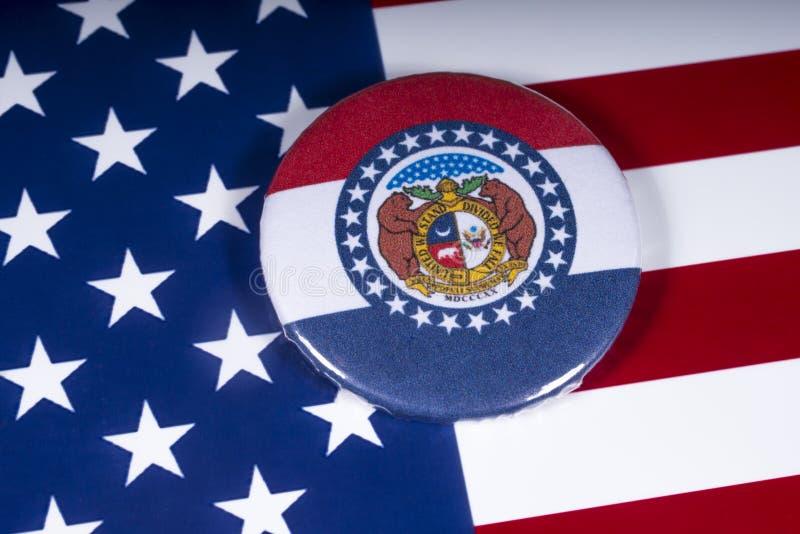 El estado de Missouri en los E.E.U.U. fotografía de archivo libre de regalías