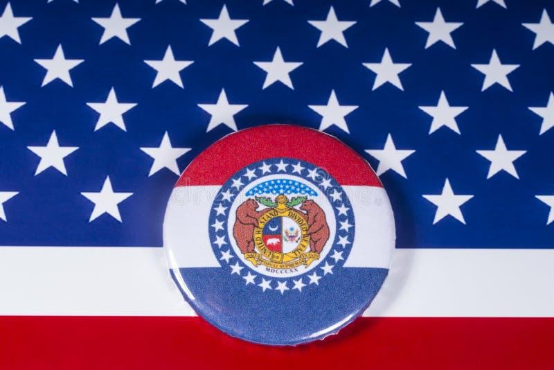 El estado de Missouri en los E.E.U.U. fotos de archivo libres de regalías