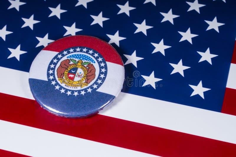 El estado de Missouri en los E.E.U.U. foto de archivo libre de regalías