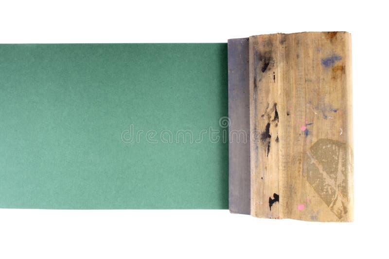 El estampar con estarcido imágenes de archivo libres de regalías