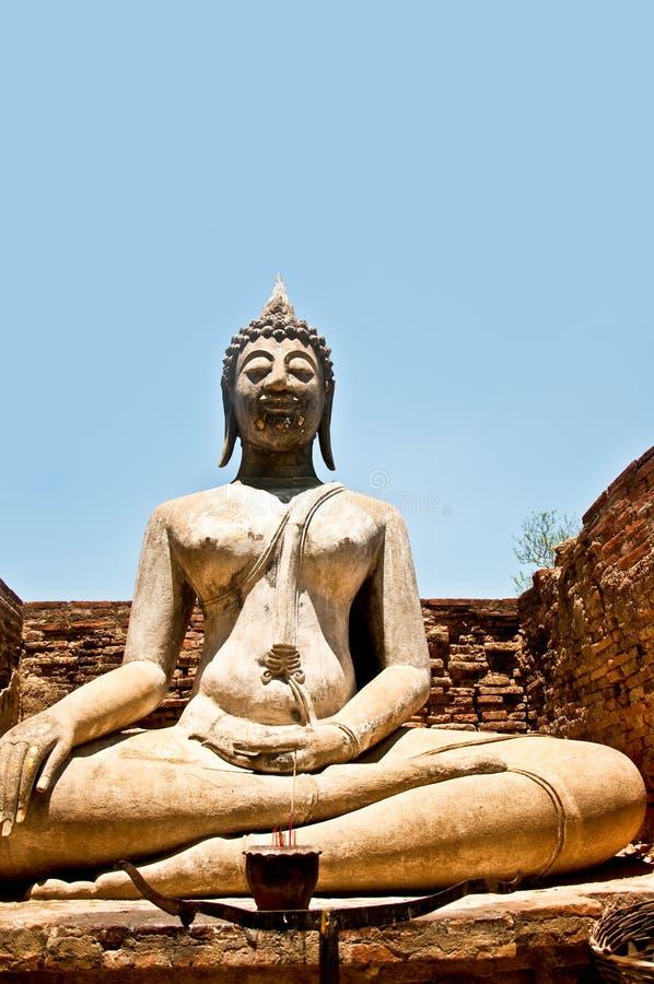 El Estatus De Buddha Foto de archivo