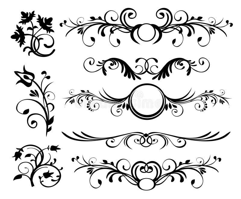 El estilo adorna vector libre illustration