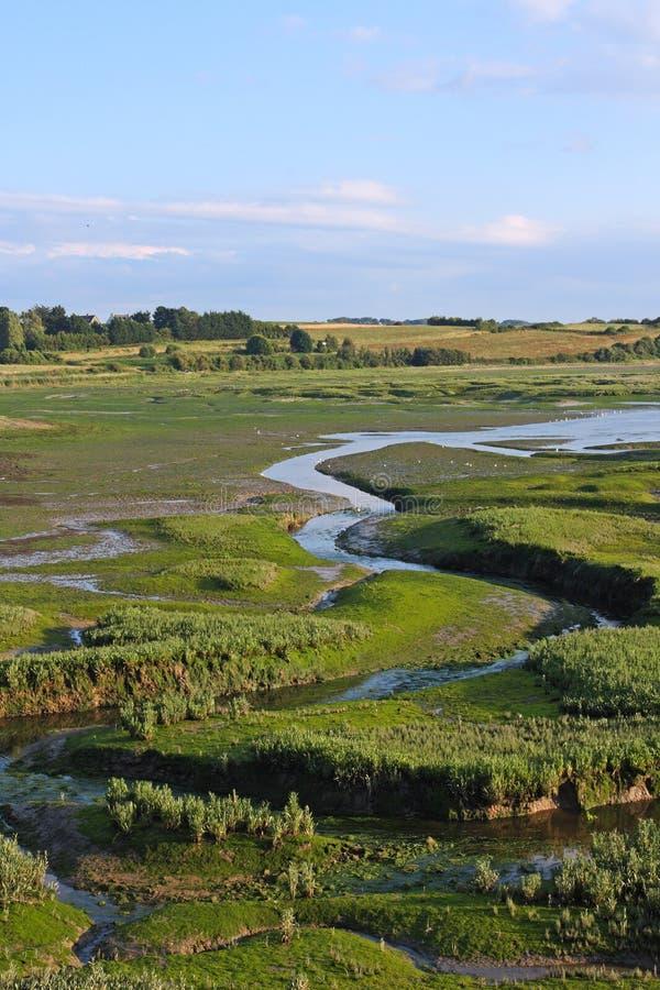 El estuario de Rance imagen de archivo libre de regalías