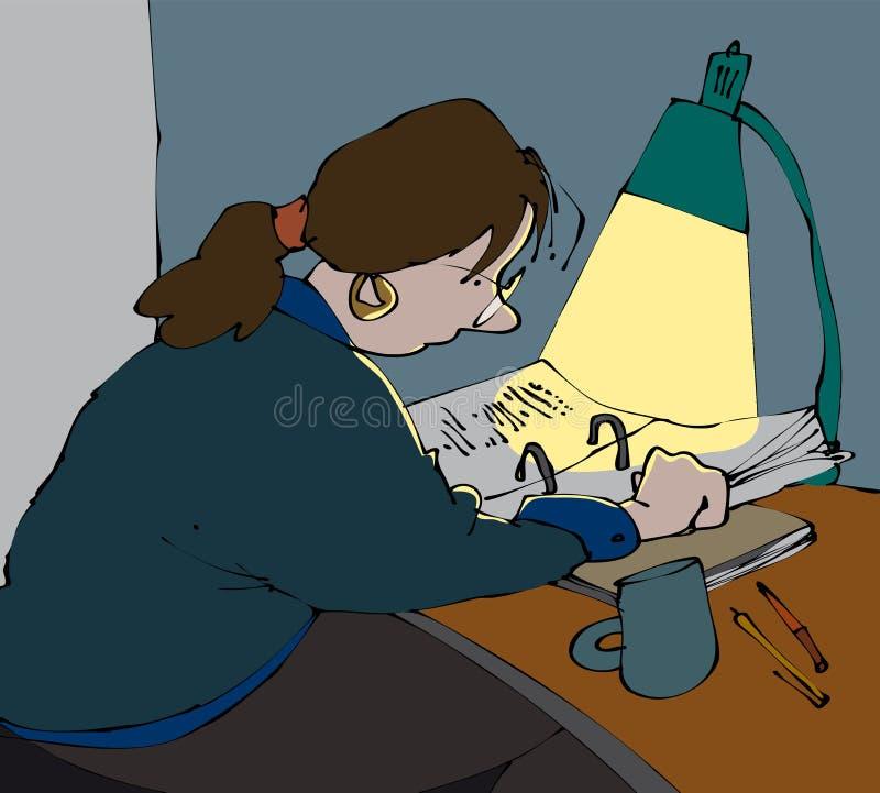 El estudiar libre illustration
