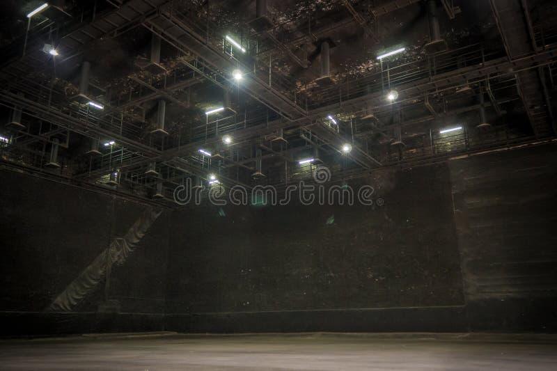 El estudio grande para hace el sistema en imagen de la película fotos de archivo