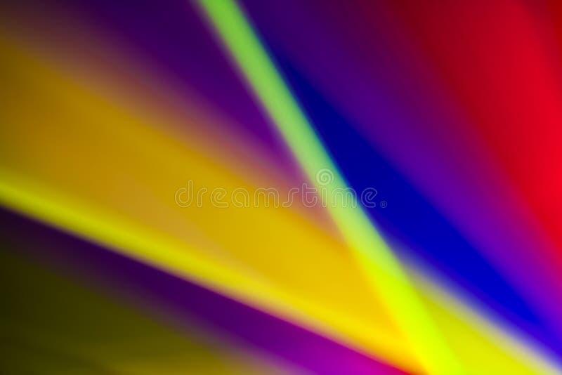 El extracto alinea el fondo colorido ilustración del vector