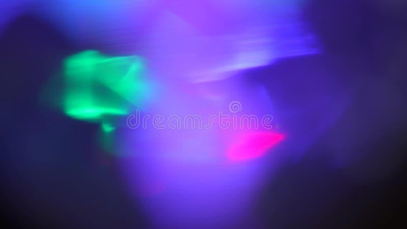 El extracto azul enciende textura del lazo del fondo del bokeh fotografía de archivo