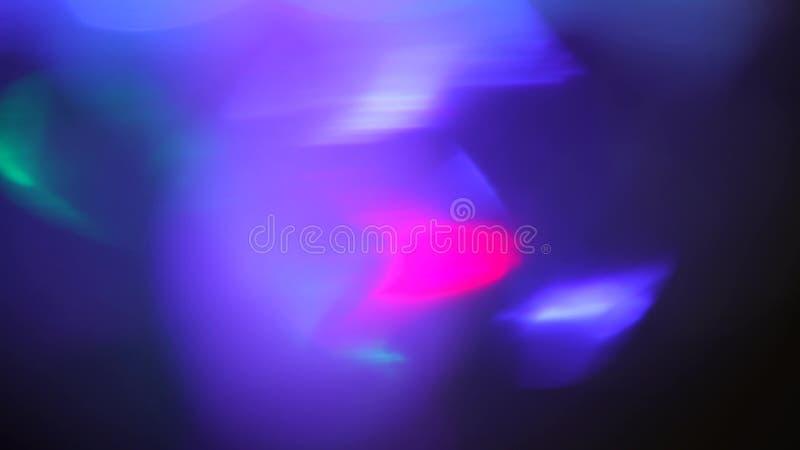 El extracto azul enciende textura del lazo del fondo del bokeh foto de archivo