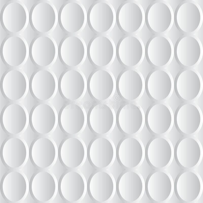 El extracto blanco y gris del vector 3D escala el fondo ilustración del vector