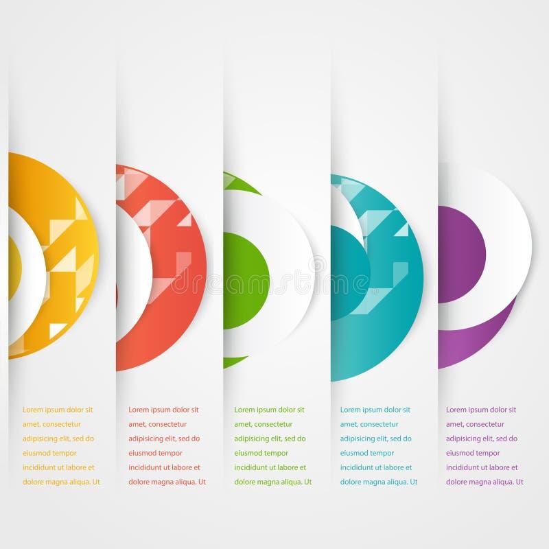 Download El Extracto Circunda La Plantilla Icono Del Color Vector Ilustración del Vector - Ilustración de círculo, iconos: 44853836