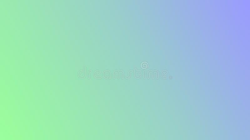 El extracto colorido borroso sombreó el fondo azul en colores pastel de los efectos del multicolor del verde menta fotografía de archivo