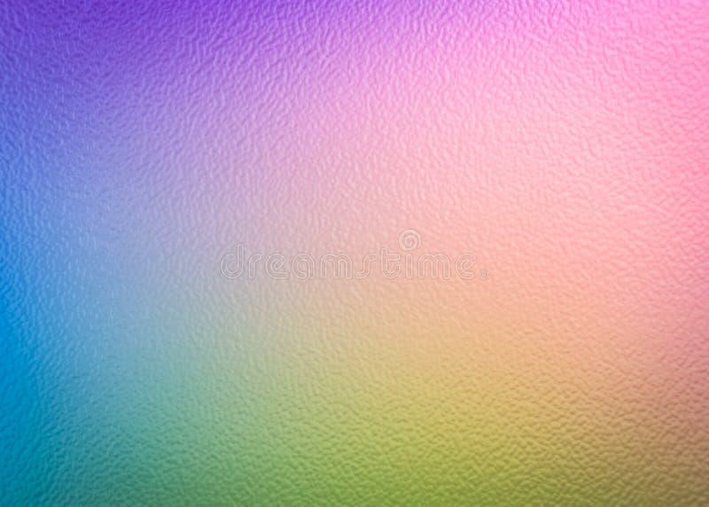 El extracto colorido empañó el fondo de la pendiente en colores brillantes del arco iris C fotografía de archivo