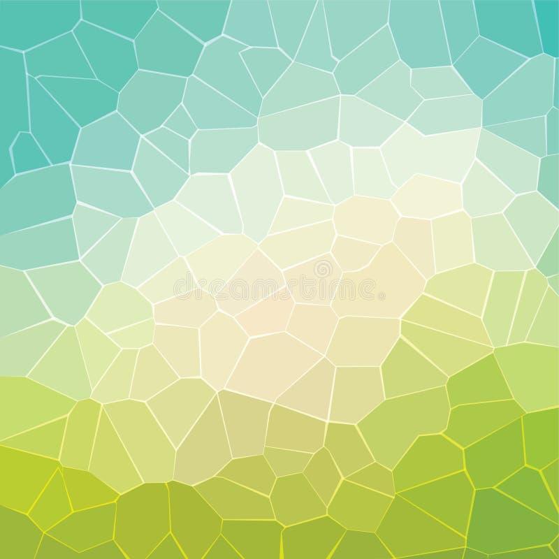 El extracto cristaliza diseño del modelo de la textura ilustración del vector