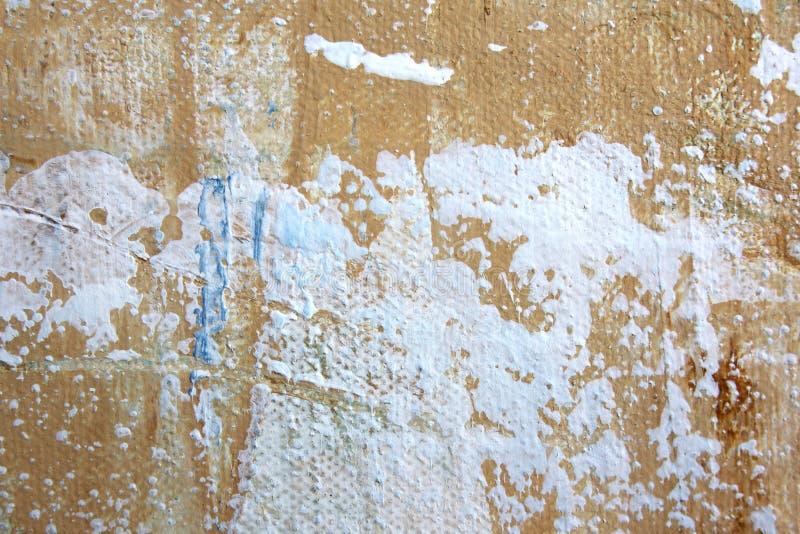 El extracto macro Art Background Rainbow Colored Tie del fondo de la lona del Grunge te?i? la tela libre illustration