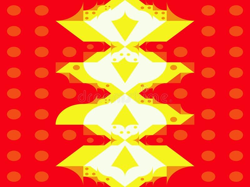 El extracto puntea el cuadrado de los triángulos y las formas geométricas de las figuras libre illustration