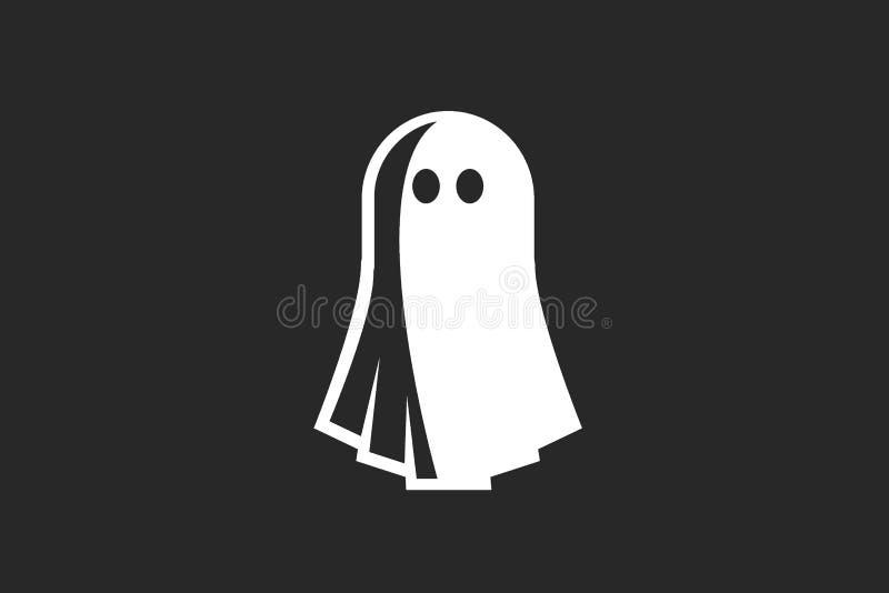 El fantasma de Víspera de Todos los Santos fotografía de archivo libre de regalías