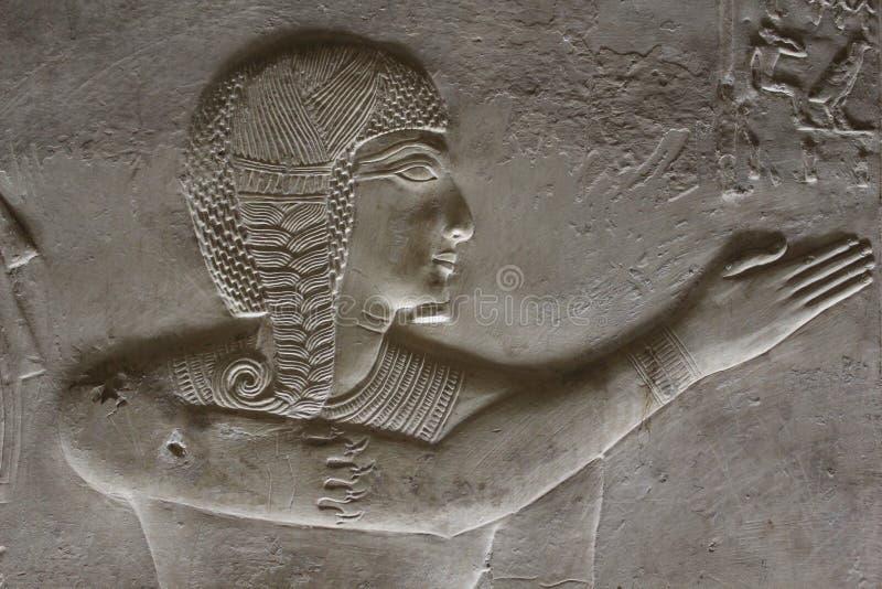 El faraón joven de Egipto foto de archivo libre de regalías