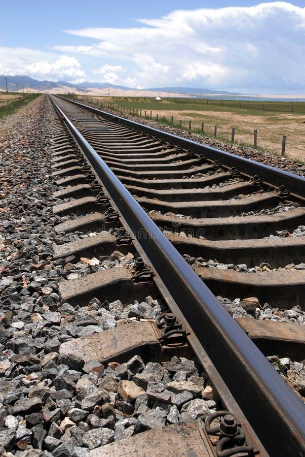 El ferrocarril fotografía de archivo libre de regalías