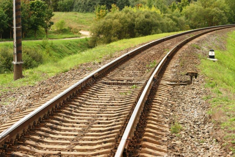 El ferrocarril cumple 2 fotografía de archivo