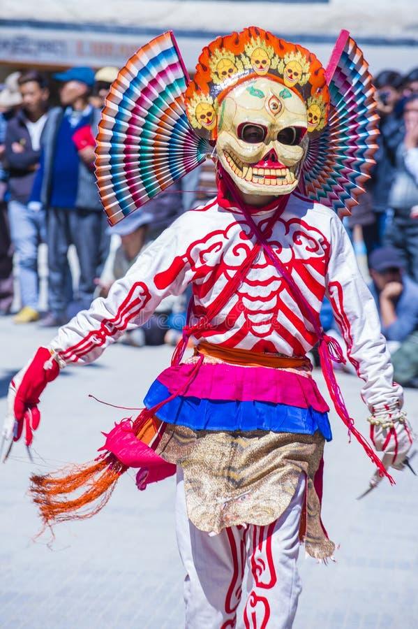 El festival 2017 de Ladakh fotos de archivo