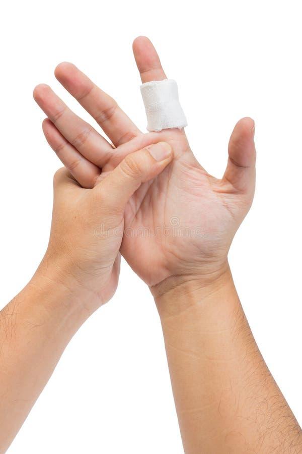 El finger sufre imágenes de archivo libres de regalías