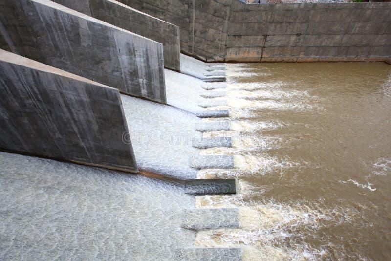 El fluir del agua imagen de archivo