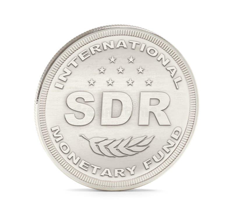El FMI del SDR acuña imagen de archivo