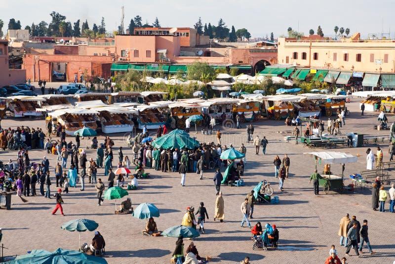 El Fna Square - Morocco Editorial Stock Photo