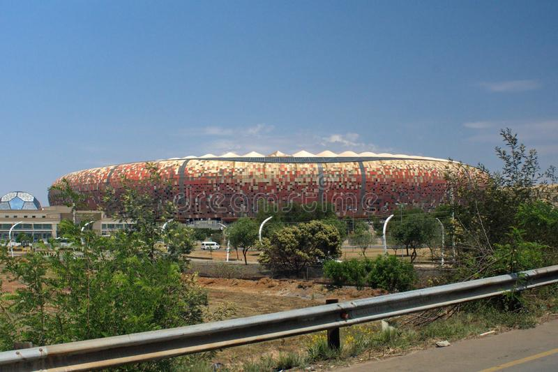 El FNB Stadium foto de archivo libre de regalías