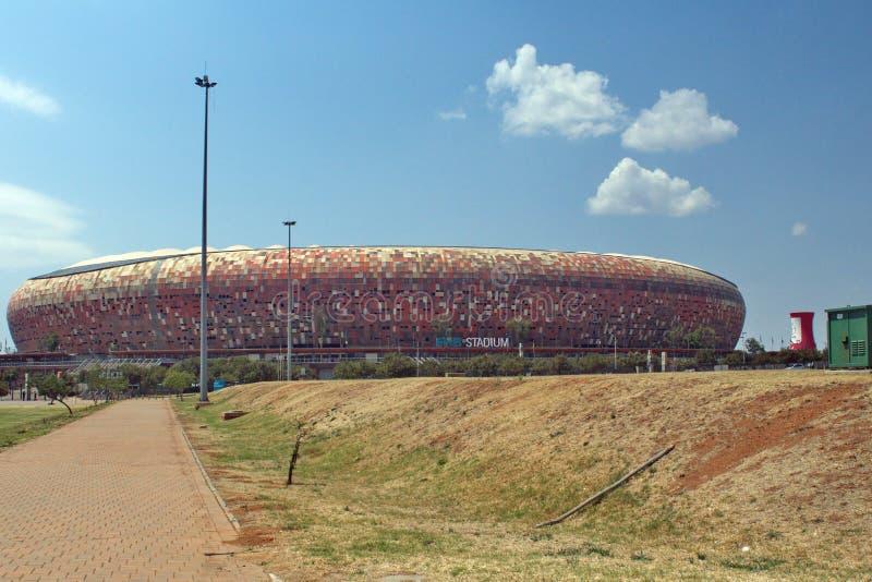 El FNB Stadium foto de archivo