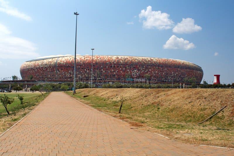 El FNB Stadium fotografía de archivo libre de regalías