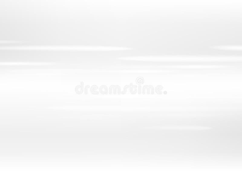 El fondo abstracto blanco, empaña el ejemplo del vector del efecto luminoso del movimiento ilustración del vector