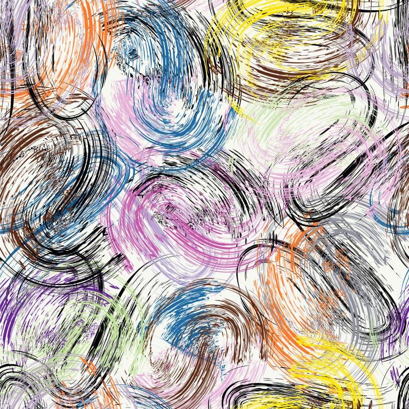 El fondo abstracto, con los movimientos y salpica fotografía de archivo libre de regalías