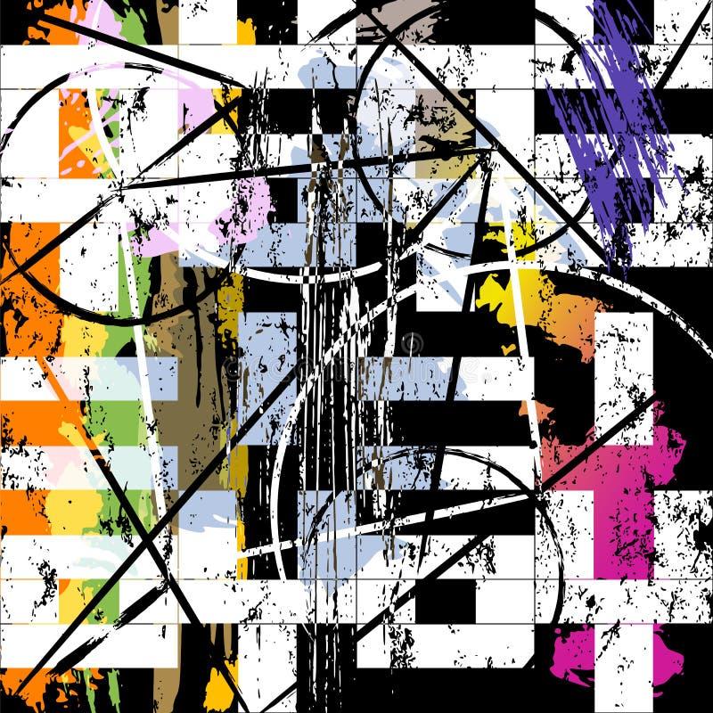 El fondo abstracto, con los movimientos y salpica imagenes de archivo