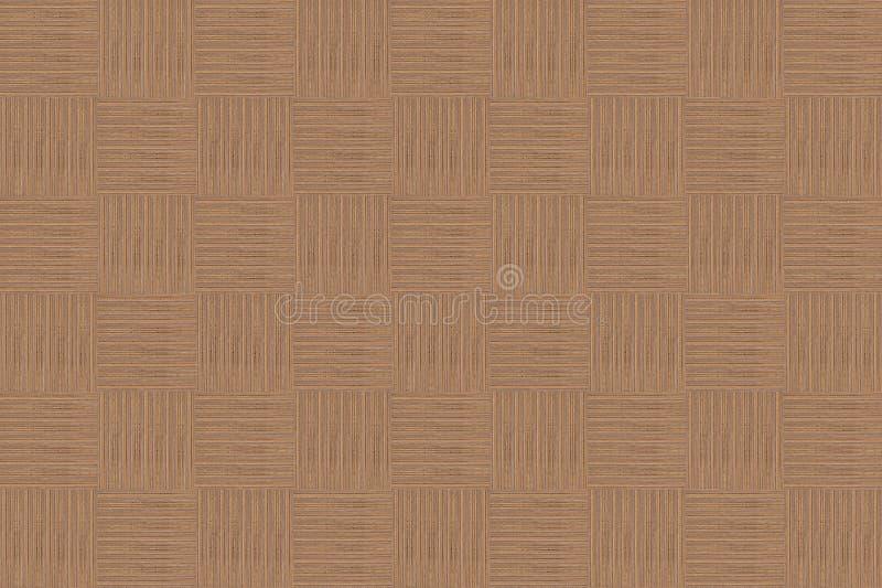 El fondo abstracto dobló el cuadrado con las líneas verticales infinitas ilustración del vector