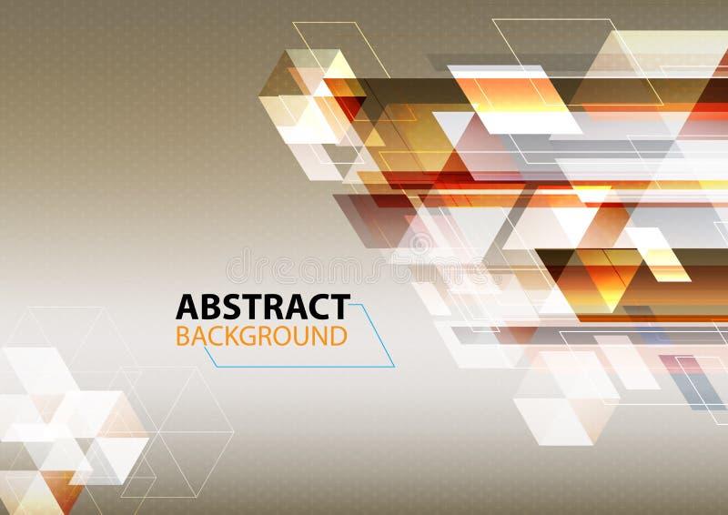 El fondo abstracto, Grunge retro para el uso en diseño, alinea el fondo rendido imágenes de archivo libres de regalías