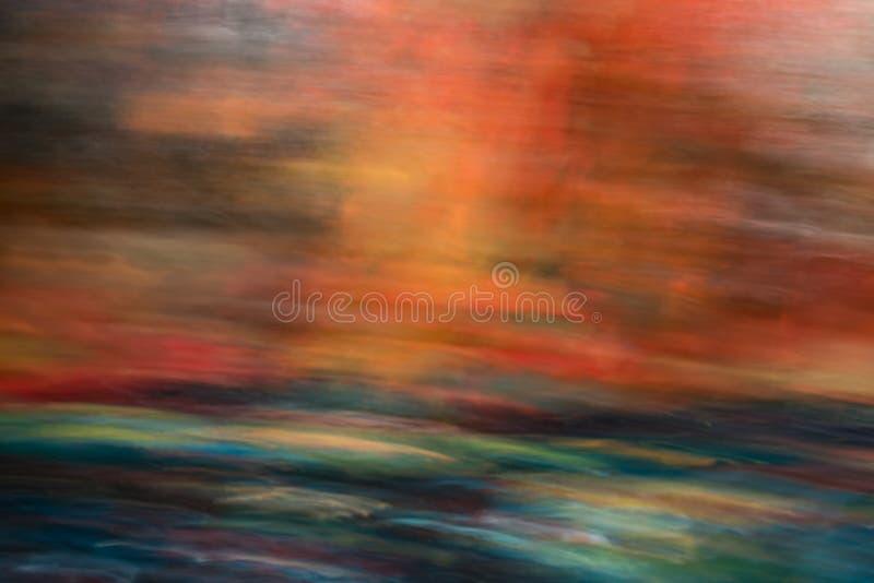 El fondo abstracto inusual del efecto luminoso, escapes ligeros, se puede utilizar en diversos modos de mezcla fotografía de archivo libre de regalías