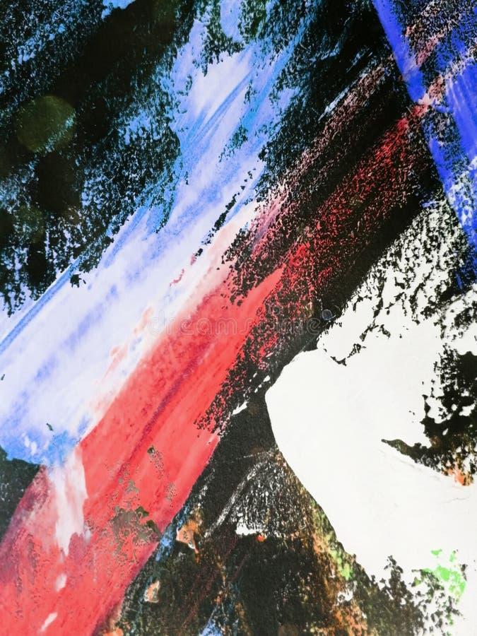 El fondo abstracto, texturas pintadas a mano, aguazo, acuarela, salpica, cae de la pintura, movimientos de la pintura Dise?o para imagen de archivo libre de regalías