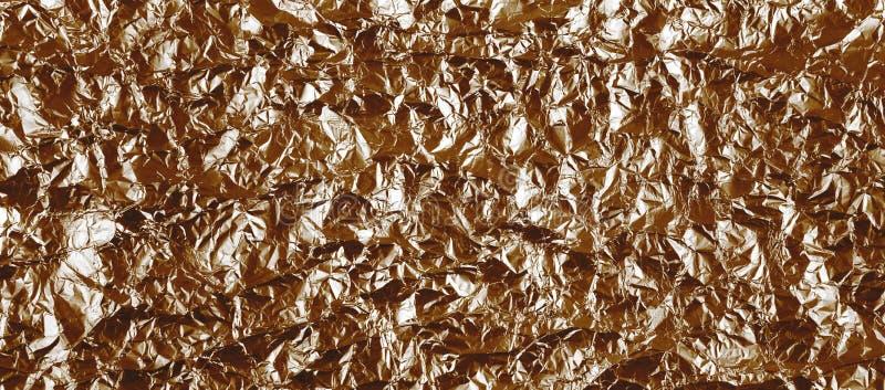 El fondo arrugó panorama marrón de la hoja imágenes de archivo libres de regalías