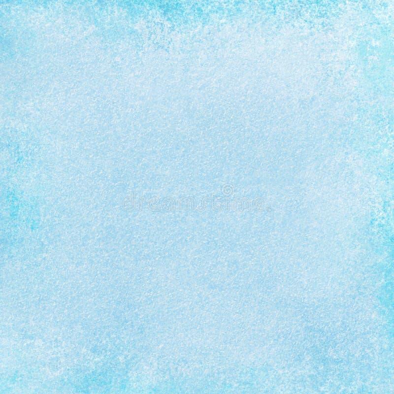 El fondo azul claro con blanco se descoloró textura del vintage ilustración del vector