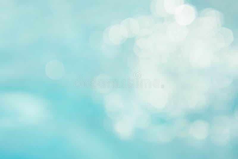 El fondo azulverde abstracto de la falta de definición, wallpaper la onda azul con s imagen de archivo