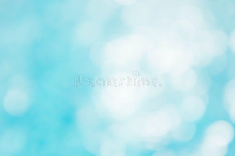 El fondo azulverde abstracto de la falta de definición, wallpaper la onda azul con s foto de archivo libre de regalías