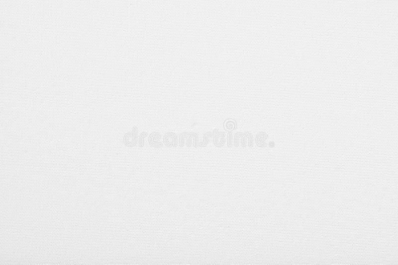 El fondo blanco de la textura de la tela de la lona del tablero de la tela del panel de la lona para el drenaje o la imagen de la fotografía de archivo libre de regalías