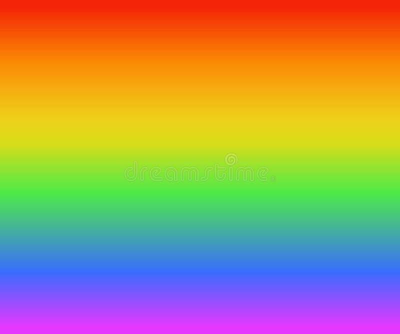 El fondo colorido de la textura del arco iris de los colores de la pendiente, seguido la bandera del orgullo de LGBT, vector el e fotos de archivo