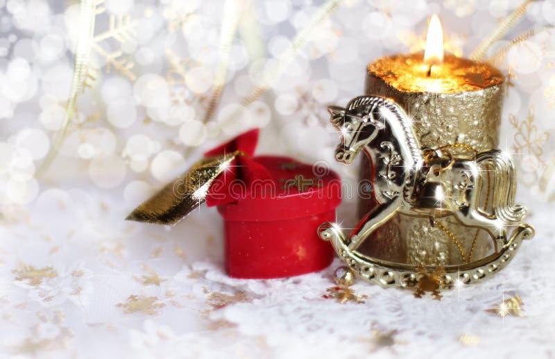 El fondo de la Navidad foto de archivo libre de regalías