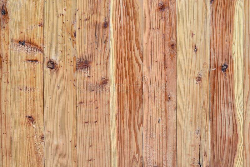 El fondo de la tabla de la textura de madera de pino de la madera vieja de las plataformas recicla el fondo para el espacio de la fotografía de archivo